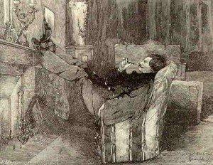 Jules de Goncourt à Montmartre en 1855... jg-300x232