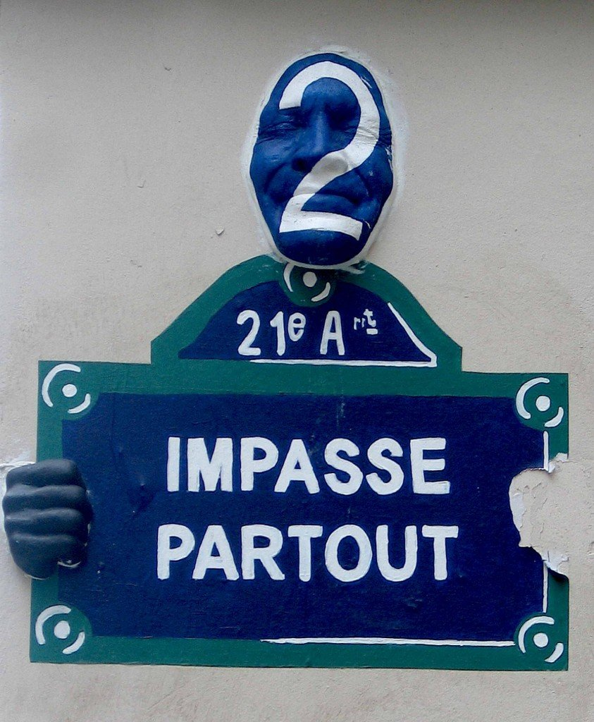 Paris 3e, hier... Mais qui a donc volé la main de droite?  Paris-3e-843x1024